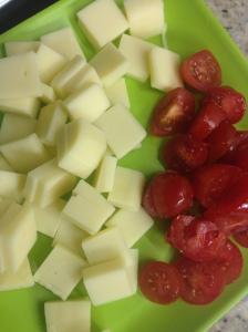 tomate e mussarela